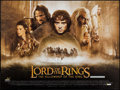 "Movie Posters:Fantasy, The Lord of the Rings: The Fellowship of the Ring (New Line, 2001). British Quad (30"" X 40""). Fantasy.. ..."