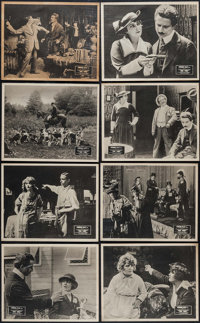 "The Whip (Paragon, 1917). Mini Lobby Cards (8) (8"" X 10""). Drama. ... (Total: 8 Items)"