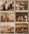 "Movie Posters:War, Over the Top & Other Lot (Vitagraph, 1918). Lobby Cards (6)(11"" X 14""). War.. ... (Total: 6 Items)"