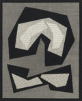 Prints:Contemporary, Mon Levinson (1926-2014). Untitled, 1964. Screenprint withacetate overlay. 15-3/4 x 13 inches (40 x 33 cm) (image). 22 ...
