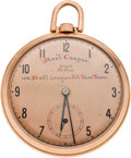 Baseball Collectibles:Others, 1943 All-Star Game Presentational Pocket Watch Presented to MortCooper....
