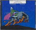 Books:Original Art, [Animation Art]. John Coleman Burroughs, artist. Original AnimationCel for Unrealized John Carter of Mars Series....