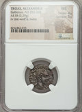 Ancients:Roman Provincial , Ancients: TROAS. Alexandria. Gallienus (AD 253-268). AE 18 mm (3.29gm)....