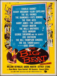 "The Big Beat (Universal International, 1958). Poster (30"" X 40""). Rock and Roll"