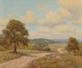 Texas:Early Texas Art - Impressionists, Porfirio Salinas (American, 1910-1973). Hill Country Road.Oil on canvas. 25 x 30 inches (63.5 x 76.2 cm). Signed lower ...