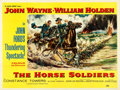 "Movie Posters:Western, The Horse Soldiers (United Artists, 1959). British Quad (30"" X40"").. ..."