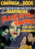 "Movie Posters:Horror, Mark of the Vampire (MGM, 1935). Autographed Pressbook (16 Pages,14"" X 19.5"").. ..."