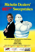 "Movie Posters:James Bond, A View to a Kill Michelin Sweepstakes (MGM/UA/Michelin, 1985).Advertising Poster (33"" X 49"").. ..."