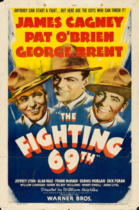 """The Fighting 69th (Warner Brothers, 1940). One Sheet (27"""" X 41"""")"""
