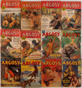 Books:Periodicals, [Periodicals.] Edgar Rice Burroughs. Six Part Serial of Tarzanand the City of Gold. [and:] Six Part Serie... (Total: 12 )