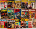 Books:Periodicals, [Periodicals.] [Film]. [Edgar Rice Burroughs]. Group of FifteenMiscellaneous Monster Movie Magazines. Philadelphia: 1962-19...(Total: 15 Items)