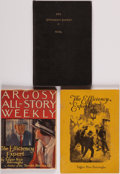 Books:Periodicals, Edgar Rice Burroughs. Group of Three Serializations of TheEfficiency Expert. New York and elsewhere. 1921-1... (Total: 3Items)