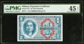 Military Payment Certificates:Series 611, Series 611 $1 PMG Choice Extremely Fine 45 EPQ.. ...