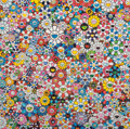 Prints:Contemporary, Takashi Murakami (b. 1962). The Future will Be Full of Smile!For Sure! and Flowers with Smiley Faces (two works),2... (Total: 2 Items)