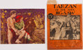 Books:Children's Books, [Games and Puzzles]. Tarzan of the Apes Jig-Saw, withEnvelope. Minneapolis: Midwest Distributors, [1932]....