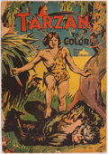 Books:Children's Books, [Children's Books]. Tarzan to Color Coloring Book. Akron,OH: The Saalfield Publishing Company, 1933. First edit...