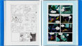 Original Comic Art:Miscellaneous, Toy Story Original Art Storyboards and Little MermaidScript Group of 3 (Walt Disney, 1995). ... (Total: 3 Items)