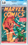 Golden Age (1938-1955):Superhero, Marvel Comics #1 (Timely, 1939) CGC GD/VG 3.0 Off-white to white pages....