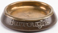 Books:Furniture & Accessories, [Tobacciana]. Edgar Rice Burroughs Personal Ashtray. Heinz Art, [n.d., circa 1920]....