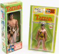 Books:Furniture & Accessories, [Toys]. Pair of Tarzan Figures. Mego Corp., 1972 - 1973....(Total: 2 Items)