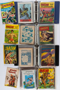 Books:Comics - Golden Age, [Tarzan]. Large Lot of Approximately 250 Williams, West World andVarious Other British and Foreign Language Comics. Circa 1...(Total: 8 Items)