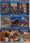 Books:Periodicals, [Periodicals.] [Edgar Rice Burroughs.] Group of Forty-Three Issues of Blue Book Magazine. Dayton, OH: 1918-1938.... (Total: 43 Items)