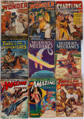 Books:Periodicals, [Periodicals.] Edgar Rice Burroughs. Group of Thirty MiscellaneousPulp Magazines. New York and elsewhere: 1927-1952.... (Total: 30Items)