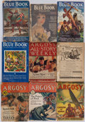 Books:Periodicals, [Periodicals.] [Edgar Rice Burroughs.] Group of Fifty-NineMiscellaneous Pulp Magazines. New York and elsewhere: 1919-19...(Total: 59 Items)