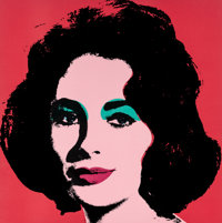 Andy Warhol (1928-1987) Liz, 1964 Offset lithograph in colors 21-7/8 x 21-7/8 inches (55.6 x 55.6