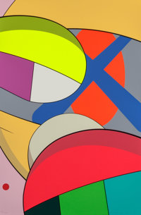 KAWS (b. 1974) From No Reply (two works), 2015 Screenprint on paper 35 x 23 inches (88.9 x 58.4 c