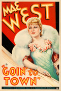 "Movie Posters:Comedy, Goin' to Town (Paramount, 1935). One Sheet (27"" X 41"") Style A....."