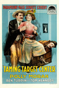 """Movie Posters:Comedy, Taming Target Center (Paramount, 1917). One Sheet (28.5"""" X 42"""")....."""