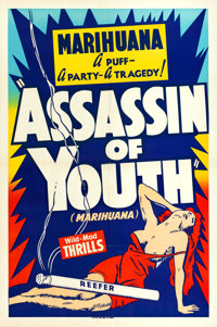 """Assassin of Youth (Roadshow, 1937). One Sheet (28"""" X 42"""")"""