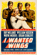 "Movie Posters:War, I Wanted Wings (Paramount, 1941). One Sheet (27"" X 41"") Style B,McClelland Barclay Artwork.. ..."