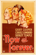 "Movie Posters:Drama, Now and Forever (Paramount, 1934). One Sheet (27"" X 41"") Style A.. ..."