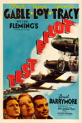 "Movie Posters:Action, Test Pilot (MGM, 1938). One Sheet (27"" X 41"") Style C.. ..."