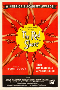"The Red Shoes (Eagle Lion, 1949). Alternate Style One Sheet (27"" X 41"")"
