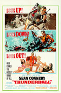 "Movie Posters:James Bond, Thunderball (United Artists, 1965). One Sheet (27"" X 41"") Robert McGinnis and Frank McCarthy Artwork.. ..."