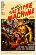 """Movie Posters:Science Fiction, The Time Machine (MGM, 1960). One Sheet (27"""" X 41"""") Reynold Brown Artwork.. ..."""