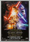 """Movie Posters:Science Fiction, Star Wars: Episode VII - The Force Awakens (Walt Disney Studios,2015). Indian One Sheet (27.25"""" X 37.5"""") 3-D/IMAX 3-D Style..."""
