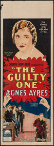 "Movie Posters:Crime, The Guilty One (Paramount, 1924). Australian Pre-War Daybill (14.5""X 40""). Crime.. ..."