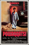 """Movie Posters:Documentary, Powaqqatsi & Other Lot (Cannon, 1988). One Sheet (27"""" X 41"""") & German A1 (23.5"""" X 33""""). Documentary.. ... (Total: 2 Items)"""