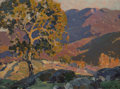 Fine Art - Painting, American:Modern  (1900 1949)  , Hanson Duvall Puthuff (American, 1875-1972). Sun and Shadow.Oil on canvas laid on board. 12 x 16 inches (30.5 x 40.6 cm...