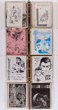 Books:Periodicals, [Fanzines]. Large Lot of Miscellaneous Burroughs and FantasyRelated Fanzines. Circa 1953 - 1973.... (Total: 6 Items)