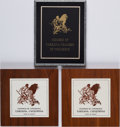 Books:Furniture & Accessories, [California]. Group of Three Tarzana, California Chamber ofCommerce Plaques. [No dates, circa 1970s - 1980s].... (Total: 3Items)