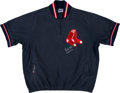 Baseball Collectibles:Others, 1980's Wade Boggs Game Worn Warmup Jacket. ...