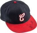 Baseball Collectibles:Hats, 1987-90 Carlton Fisk Signed Game Worn Chicago White Sox Cap, MEARSAuthentic.. ...