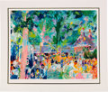 """Miscellaneous Collectibles:General, 1991 """"Tavern on the Green"""" Print Signed by Leroy Neiman...."""