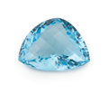 Gems:Faceted, Gemstone: Blue Topaz - 29.28 Ct.. Brazil. 22.3 x 18.1 x11.3 mm. ...