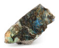 Lapidary Art:Carvings, Polished Labradorite. Madagascar. 8.58 x 3.94 x 2.80 inches(21.80 x 10.00 x 7.11 cm). ...